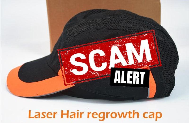 Beware of knockoff laser caps