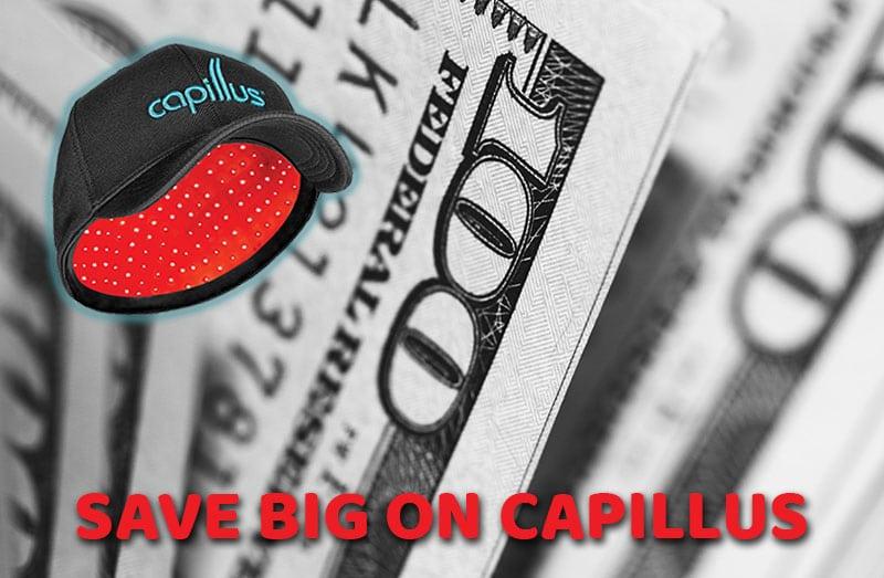 Get $1000 Cash Back On Your New Capillus Laser Cap