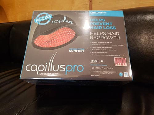 Capillus Pro model